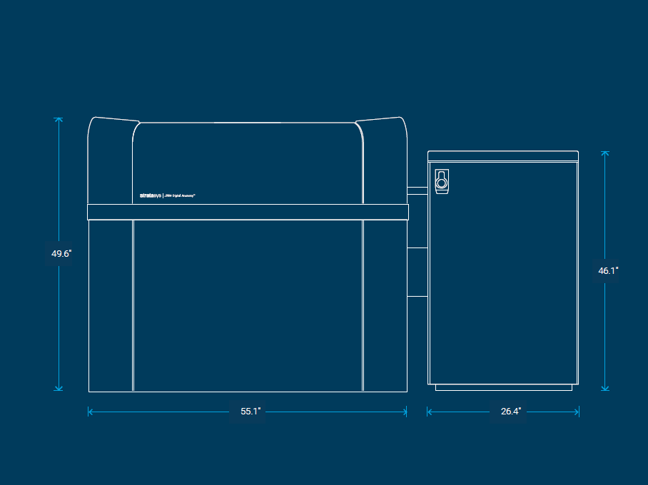 J750 Digital Anatomy Printer Specs